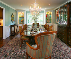 Traditional Dining Rooms From Barbi Krass : Designers' Portfolio 1863 : Home 