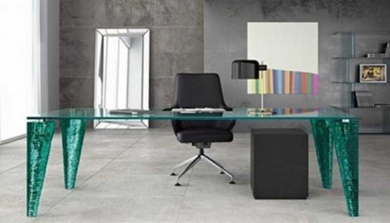 Modern Glass Table, Modern Glass Table Design By Fiam
