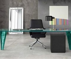 Modern Glass Table Design By Fiam
