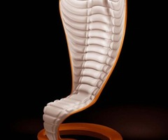 Exotic Chairs Concept With Cobra Shape By Wild Design