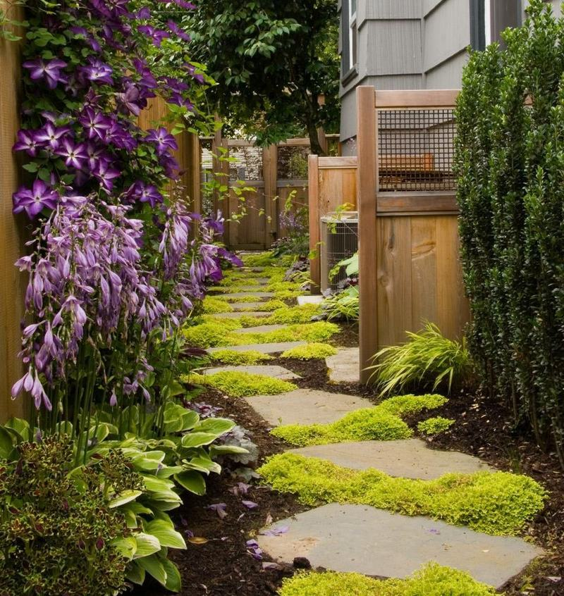 Decorative Outdoor Lighting Ideas Indoor Garden With Footpath Design ...