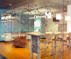 3 D Decorative Glass Interior Design From Nathan Allan Glass Studios