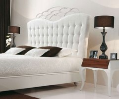 Modern Luxury Bedroom With White Bed Designs And Decorating Ideas
