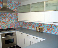Modern Kitchen Tiles With Various Materials And Design