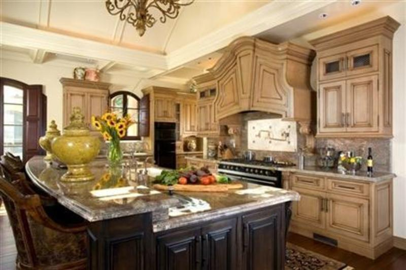 French country kitchen decor4 interior design decorating for Modern french country design
