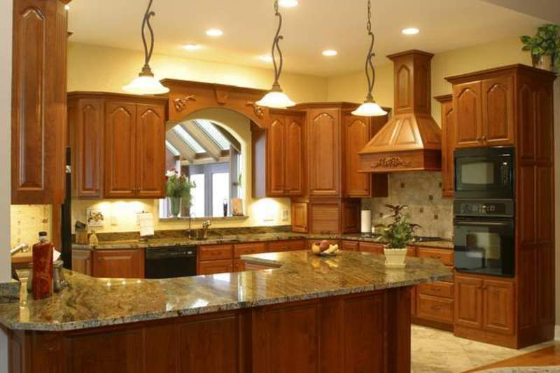 Granite Countertops Kitchen, Pics Granite Countertops Designing Kitchen
