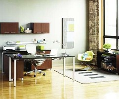 Contemporary Workstation Interior Home Office Design By National Association Of Home Builders Contemporary