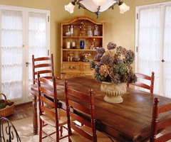 Country Dining Rooms From Jackie Glisson : Designers' Portfolio 705 : Home