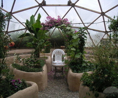 Design Of Tropical Greenhouse Dome