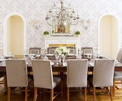 Cococozy: The Silver Lining On A Traditional Dining Room