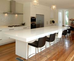 Contemporary Kitchen Counter And Breakfast Bar Design By Hanex Contemporary Hanex Kitchen Counter And Breakfast Bar    Home Design Inspiration