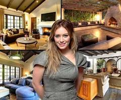 Hilary Duff Mediterranean House In Toluca Lake, Ca
