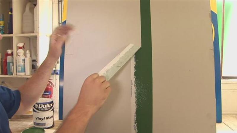 Paint Stripes On Walls, How To Paint Stripes On A Wall (Painting 