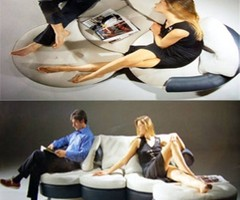 The Original Couch Sofa: Flexible, Comfortable And Uniquely Designed For Small Space.