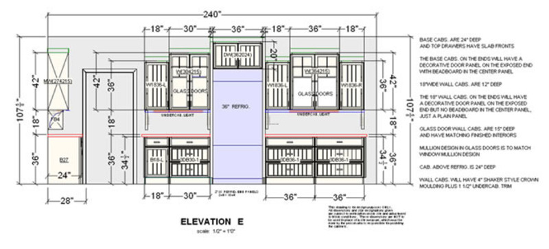 Kitchen Design Plans, Kitchen Floor Plan