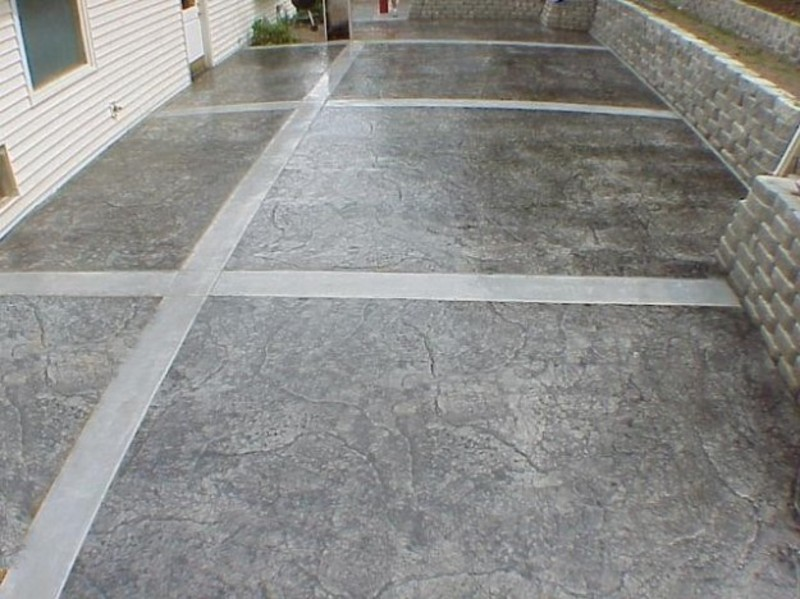 des plaines patio designs des plaines concrete - Concrete Design Ideas