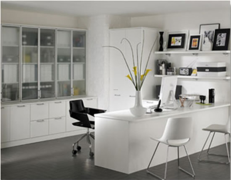 Office Modern Furniture, Construct A Home Office With Modern Furniture