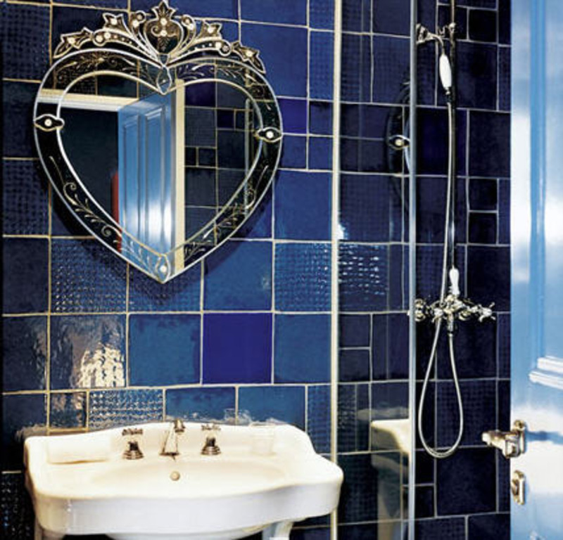 French Bathroom Images, Colorful French Bathrooms  Marie Claire Maison