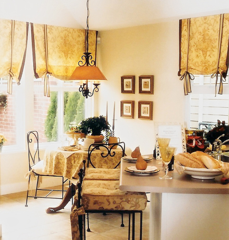 French Country Decor Cool With French Country Kitchen Curtains Photos