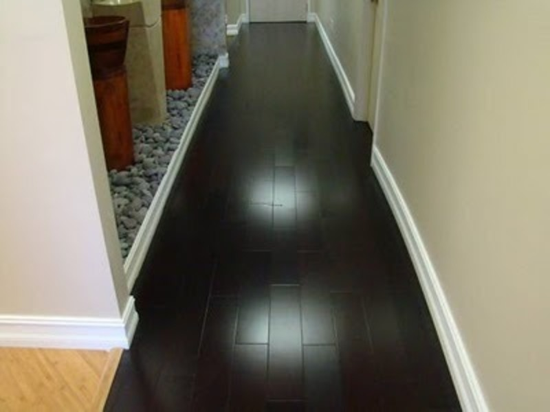 Black Wood Floor Design, Black Wooden Flooring