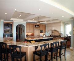 How To Choose Kitchen Island Seating Concept? Rounded
