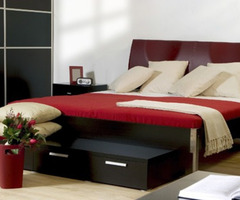 Bigorous Black Red Bedroom Ideas Looks Elegant