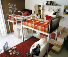 10 Minimalist Loft And Bunk Beds For Kids And Teenagers: Cool Bunk Bed And Loft Design For Kids And Teens