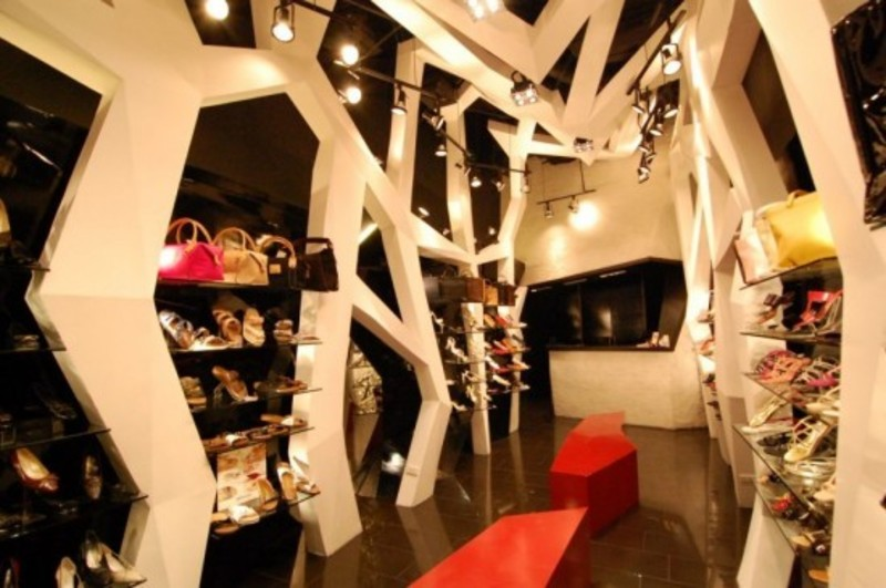 Store Interior Design Ideas, Via Venetto Store Interior Style