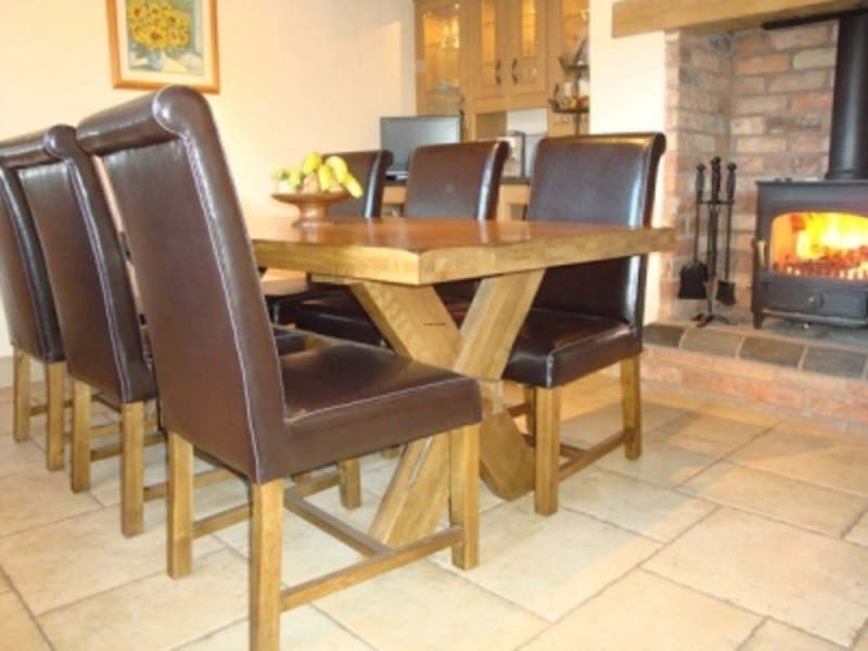 Farmhouse Table And Chairs, Farmhouse Oak Furniture