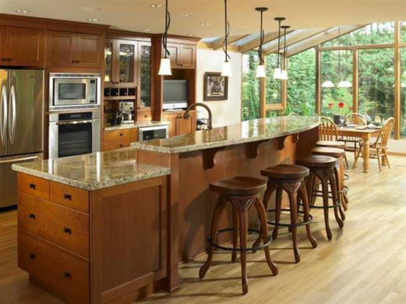 Kitchen Island Ideas With Seating, How To Choose Kitchen Island Seating Concept? Marmer