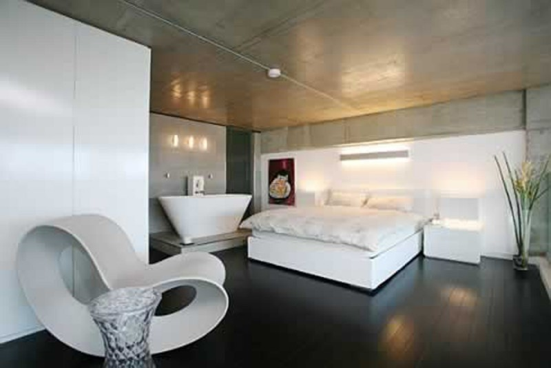 Loft Apartment Pictures, Loft Apartment Design, Contemporary Loft Apartment, Modern Loft Apartment