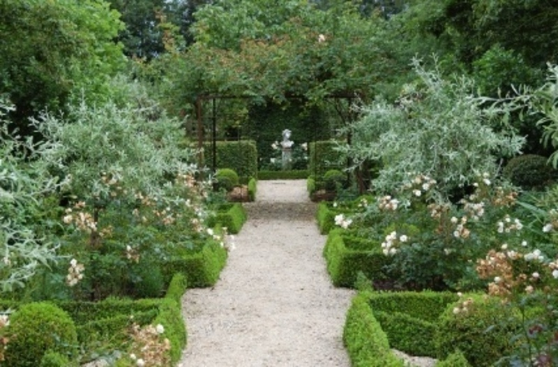 Rose Garden Design, Planning A Rose Garden / design bookmark #