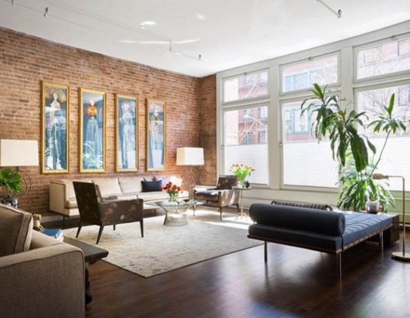 Best modern apartment nyc loft interior design pictures for New york loft apartments