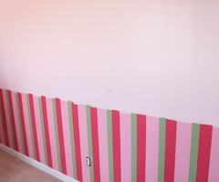 How To Paint Three Stripes On The Walls