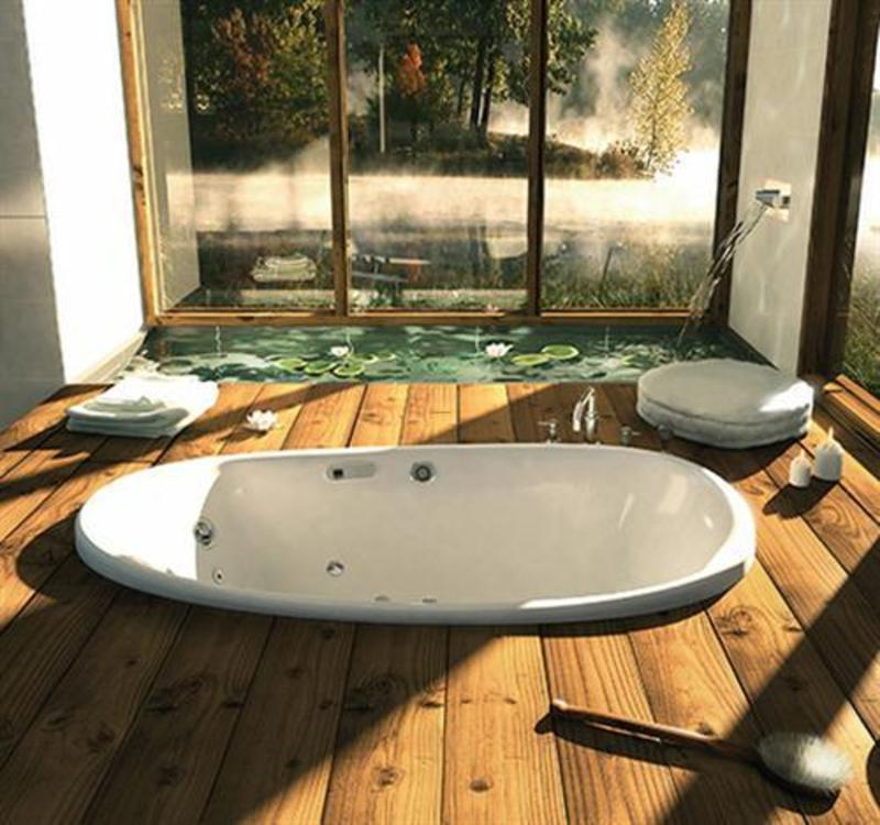 Spa Design Bathroom, Luxury Spa