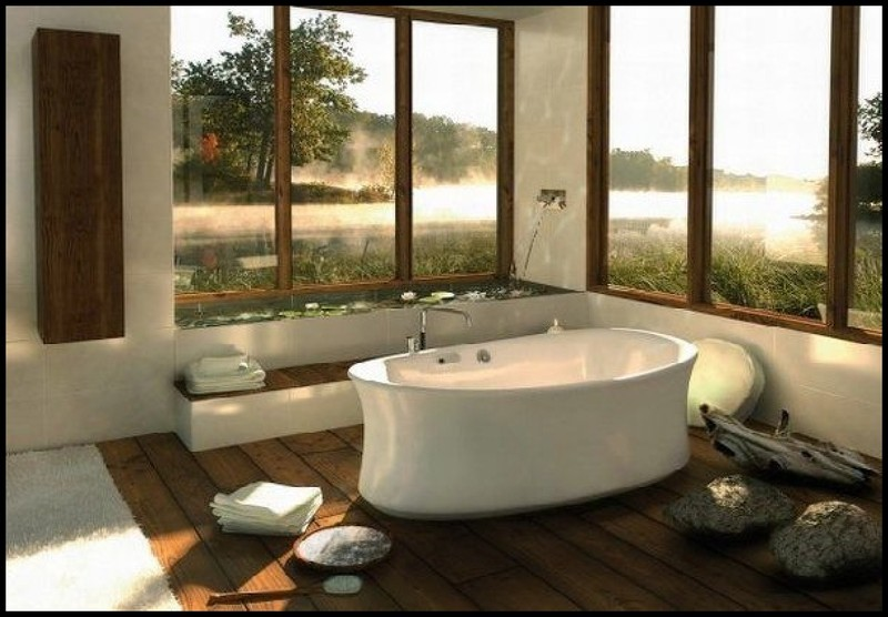 simple unique modern spa bathtub designs for romantic