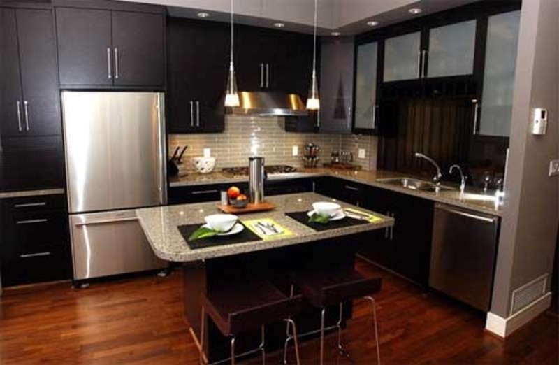 Black Kitchen Design, Cabinets For Kitchen: Photos Black Kitchen Cabinets