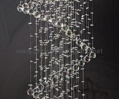 Modern Crystal Pendant Lamp Bm