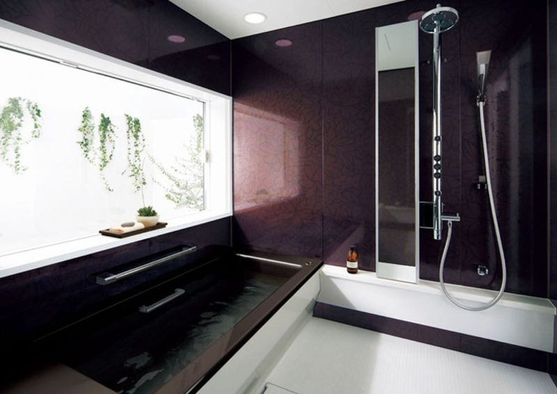 Tiny Modern Bathroom, Multifunctional Small Bathroom Layout With High