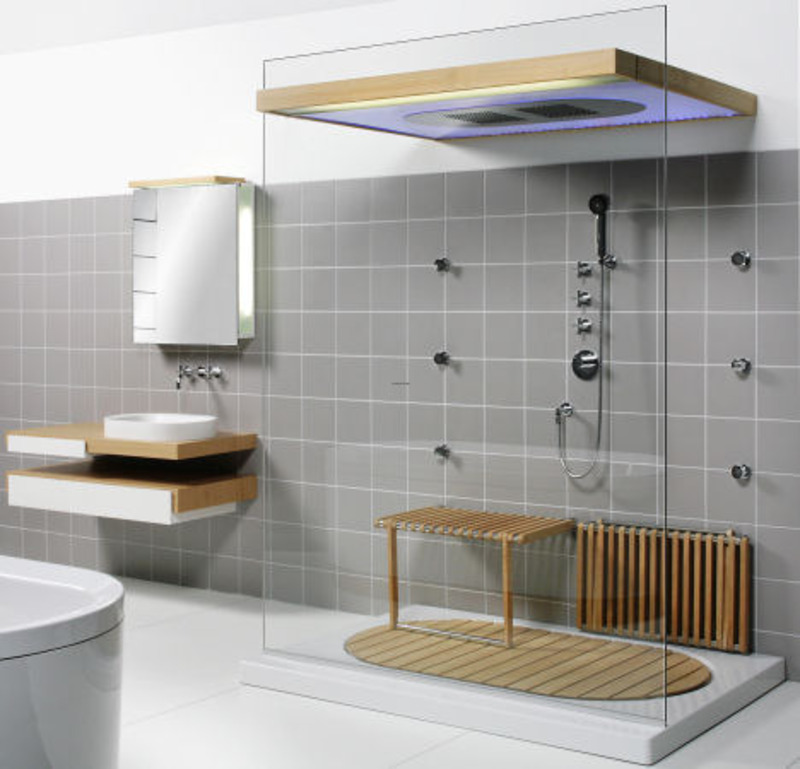Tiny Modern Bathroom, Small Modern Bathroom: Bathroom Design With One Side