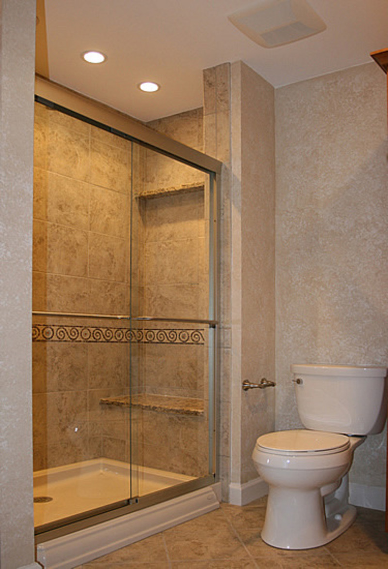 Small bathroom remodel design bookmark 15355 for Small restroom
