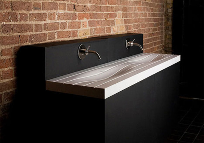 Modern sink and wash basin designs adriana sassoon for Bathroom sink designs