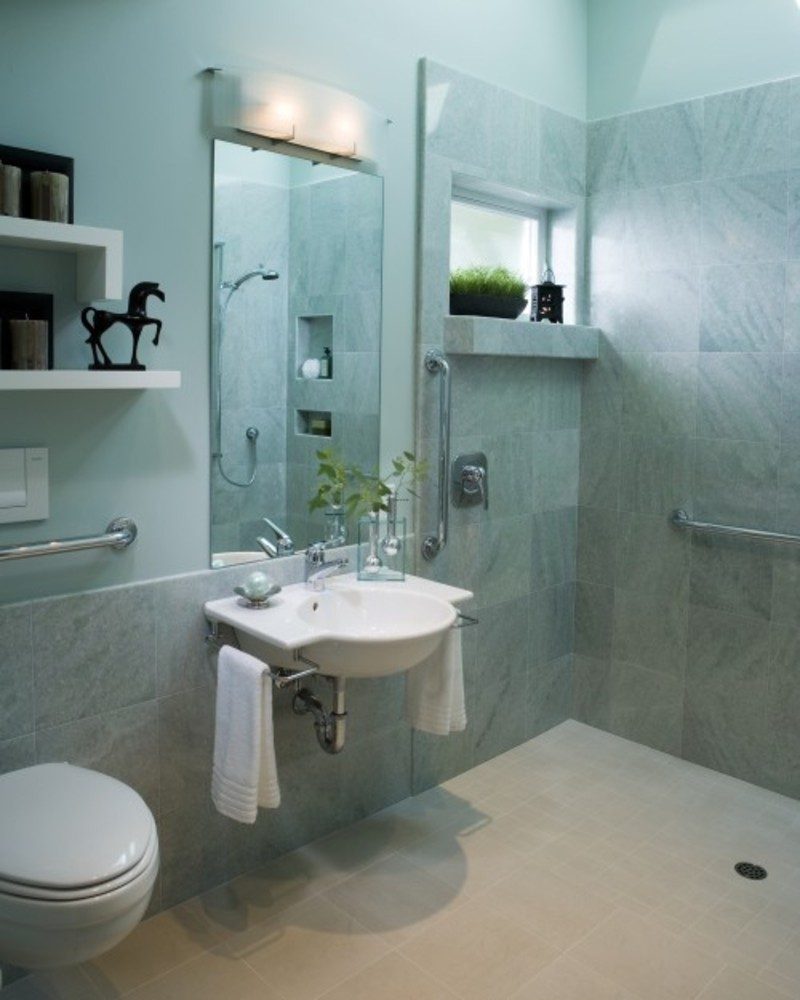 Tiny Modern Bathroom, Small Bathroom Designs