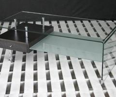 Modern Office Furniture: Everward Modern Rectangular Glass Coffee Table