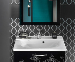 Moroccan Bathroom Sink With Storage Designs