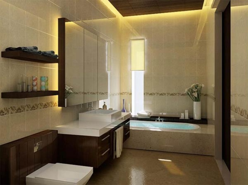 Tiny Modern Bathroom, Latest Galleries Of Modern Bathroom Designs For Small