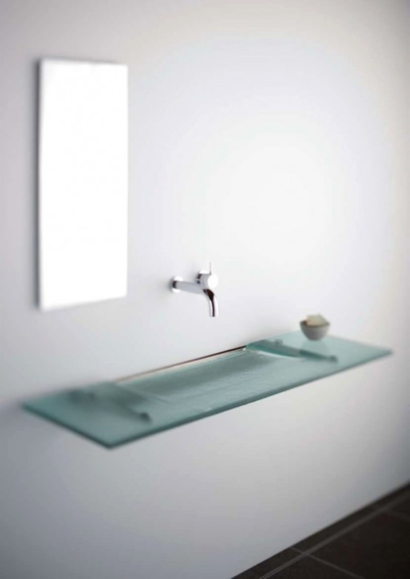 Bathroom Sink Design, Super Modern And Slim Bathroom Sinks By Omvivo