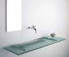 Super Modern And Slim Bathroom Sinks By Omvivo