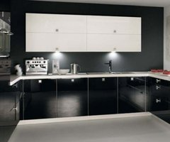 New Conceptual Kitchen Ideas Black Design Interior