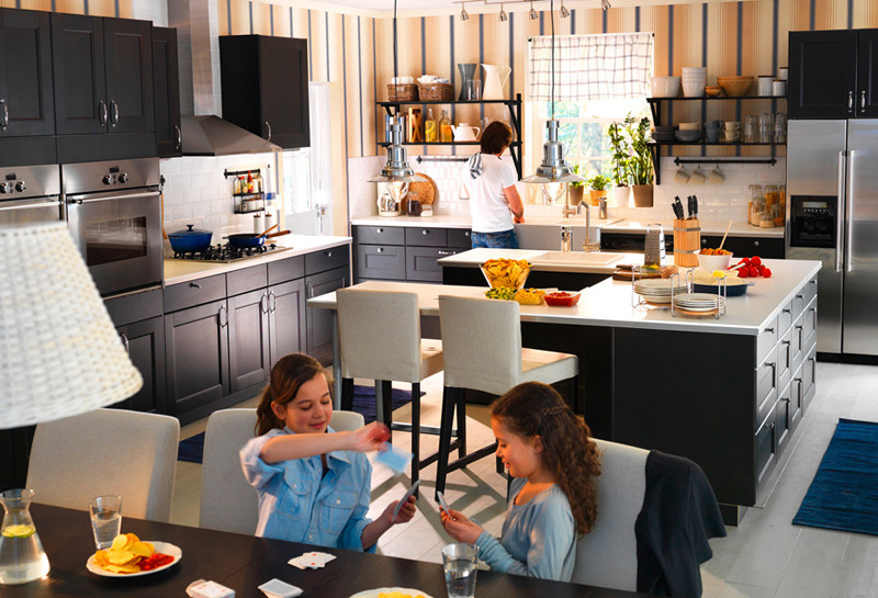 Kitchen Dining Design, Ikea 2011 Ikea Dining Table And Kitchen Designs And Furnitures